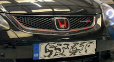 Honda Civic Type R EP3 F/lift H gel overlay badges, x 3 - front/rear/S- wheel