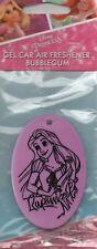 Princesa De Disney-Ambientador Coche-Rapunzel-chicle * Nuevo y Sellado *