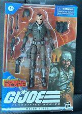 G.I Joe Classified Series: Cobra Island Major Bludd Action Figure