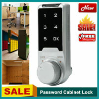 Electronic Password Keyless Lock File Cabinet Locker Security Anti-Theft Lock