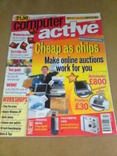 Computer Active Magazine - ONLINE AUCTIONS Oct 31 2002