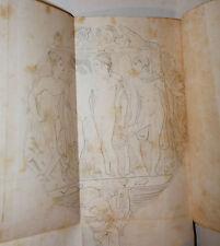Arte, Secondiano Campanari: Specchio Vulcente Risorgimento Adone 1840 2 tavole
