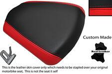 BLACK & BRIGHT RED CUSTOM FITS APRILIA SL 1000 FALCO 99-05 REAR SEAT COVER