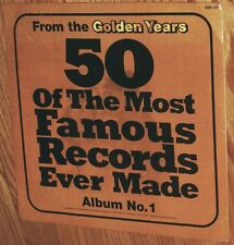 VINYL LP From The Golden Years 50 Of The Most Famous ... 3LP Factory Sealed