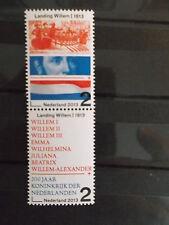 Nederland 2013 200 jaar Koninkrijk 2 zegels samenhangend  postfris/mnh