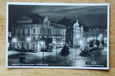Antique 1910-1920 Sweden Stockholm Street Photo Postcard Post Card Vintage
