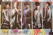 "SHINEE ""FIRE - INDIVIDUAL SHOTS"" POSTER - K-Pop Music, Korean Boy Group"