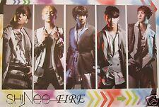 "SHINEE ""FIRE - INDIVIDUAL SHOTS"" POSTER - K-Pop Music, Korean Boy Group"