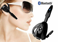 BLUETOOTH WIRELESS HEADSET EARPHONE HANDSFREE WITH MIC FOR PLAYSTATION 3 PS3