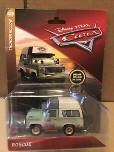 DISNEY CARS DIECAST -Roscoe -Deluxe -Damaged Packaging - Please Read Description