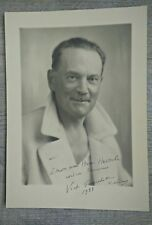 Paul Nadar PHOTO ANCIENNE - VINTAGE, OLD 1933 Victor Fouchet.