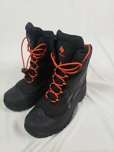 Columbia Waterproof Winter Boots 200grams Boys Youth Sz 7 New! BY5957-010
