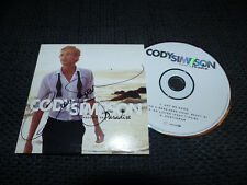 "CODY SIMPSON signed Autogramm auf ""PARADISE"" CD  LOOK"