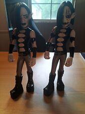 Bleeding Edge Goth Vinyl Figures Dru I'd W/ Chase Series 2 Open Rare Oop