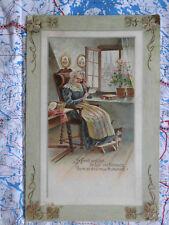 Mutter Brief Gedicht Gemälde Kunstwerk Postkarte Ansichtskarte 3053