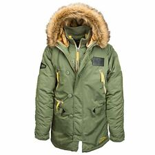 Alpha Industries N-3B Inclement Parka color Sage Green size Small