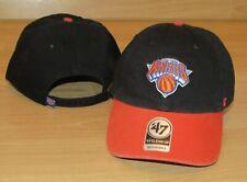 New York Knicks '47 Brand Clean Up Strapback 2-tone Hat Cap Size Men's