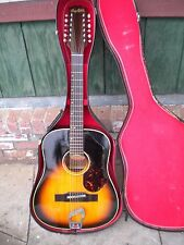 VINTAGE HAGSTROM BJ12 / H33 12 STRING ACOUSTIC GUITAR