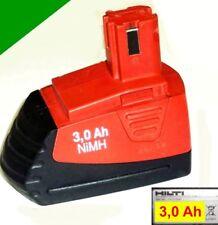 Original Hilti Akku SFB 126 12 V 3 Ah NiMh   3000 mAh  m.Panasonic Zellen,