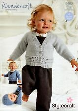 Stylecraft  9480- Baby & Childrens KNITTING PATTERN - not the finished items