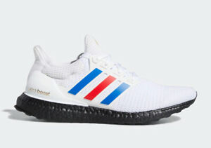 Adidas Ultraboost 2.0 'USA' Men's Size 8-13 Red White Blue Running Shoes FY9049