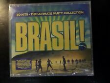 CD TRIPLE ALBUM - BRASIL - 50 HITS - THE ULTIMATE PARTY COLLECTION - NEW SEALED