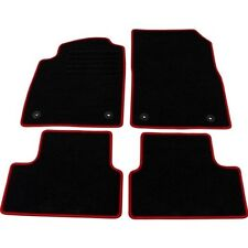"OPEL Astra J velour ""red"" tapis de sol set 4 pièces NEUF"