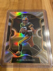 Aaron Rodgers Select Concourse Prizm - Green Bay Packers - MVP