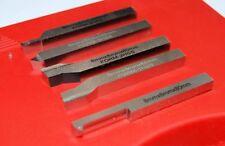 Set of 5 Soba HSS Lathe Tools 8 mm Square (131062) Turning Myford Etc