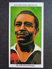 The Sun Soccercards 1978-79 - Mario Coluna - Portugal #231