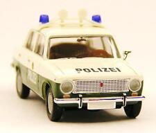 H0 BUSCH Personenkraftwagen Lada 1200 Shiguli 2101 Polizei Sachsen DDR # 50103