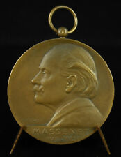 Médaille Saint Etienne festival Jules Massenet musique compositeur 1924 Hôtel de