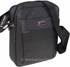 Herren Tablet Tasche Schultertasche Umhängetasche Handtasche Bag schwarz Neu