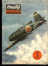 Mały Modelarz 1984/03 Japoński samolot myśliwski Raiden
