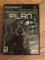 THE PLAN - PS2 - COMPLETE WITH MANUAL - FREE S/H - (KK)