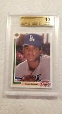 1991 Upper Deck Final Edition Pedro Martinez Rookie RC BGS 10 pristine