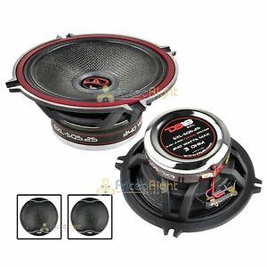 "DS18 EXL-SQ5.25 Pair 5.25"" 2 Way Coaxial Speaker 340 Watts Max Power 2 Speakers"