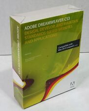 Adobe Dreamweaver CS3 CS 3 Mac PN: 38040348 NEW Sealed Retail Box