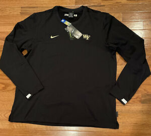 Men's Wake Forest Demon Deacons Nike Performance Crew Sweatshirt XL NWT $75