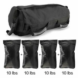 Fitness Exercise Weighted Sandbags, Power Bag Weight Adjustable,Crossfit Fitness