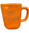 Rae Dunn Happy Halloween Coffee Mug Orange