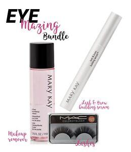 Eye-Mazing! MARY KAY LASH BUNDLE - Lashes, Remover & BUILDING SERUM
