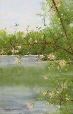 Smith Mountain Lake Spring (8.2 x 5.3) -- Giclee Print
