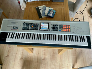 Roland FantomX8 Workstation Synthesiser ...AMAZING machine - signed by Heaven 17