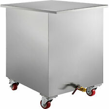 24.7 x 20.8 x 31Commercial Kitchen Hood Grease Filter Soak & Clean Tank