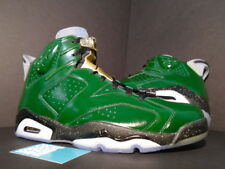 Nike Air Jordan VI 6 Retro CHAMPIONSHIP CHAMPAGNE PINE GREEN RED GOLD BLACK 13