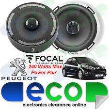 Peugeot 207 06-12 Focal 17cm 6.5 Inch 240 Watts 2 Way Rear Door Car Speakers