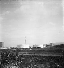 LIVOURNE c. 1950 - Usine Italie - 2 Négatifs 6 x 6 - ITAL 582
