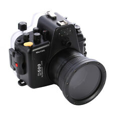 40M/130FT Waterproof Underwater Housing Camera Case For Nikon D500 & 105mm Lens