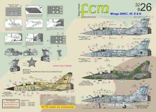 FCM Decals 1/32 Dassault Mirage 2000C/-5. 2000D/N - Brazil and France # 32026